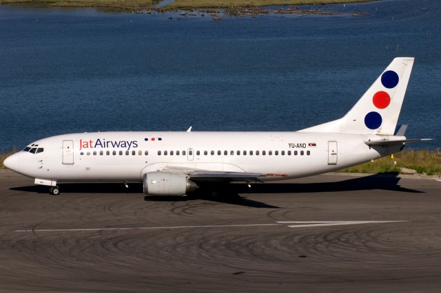 JAT Airways Boeing 737-300.
